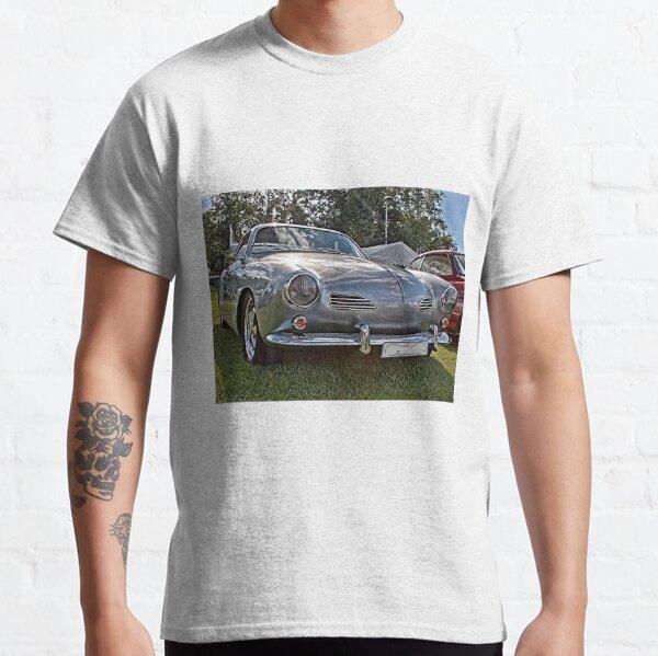 Silver Karmann Ghia at 2014 Volksfest Classic T-Shirt