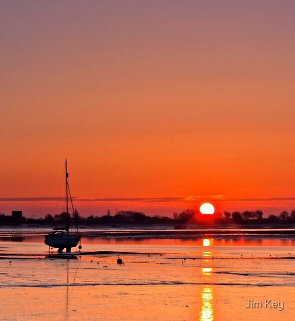 """Heybridge Basin""   Essex   by Jim Key"