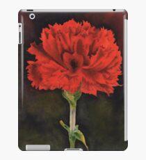 Nelke Januar Birthflower im Aquarell iPad-Hülle & Skin