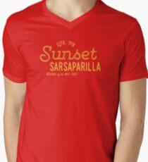 Sunset Sarsaparilla Men's V-Neck T-Shirt