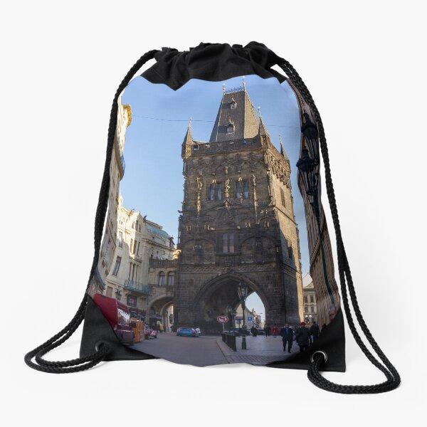Powder Tower | Prague Drawstring Bag