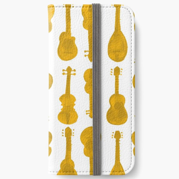 mama don't allow no music - in mustard yellow iPhone Wallet