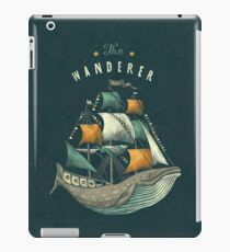 Whale | Petrol Grey iPad Case/Skin