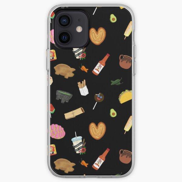 Antojitos - Black iPhone Soft Case