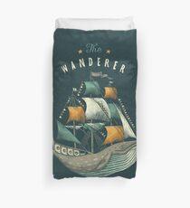 Whale | Petrol Grey Duvet Cover