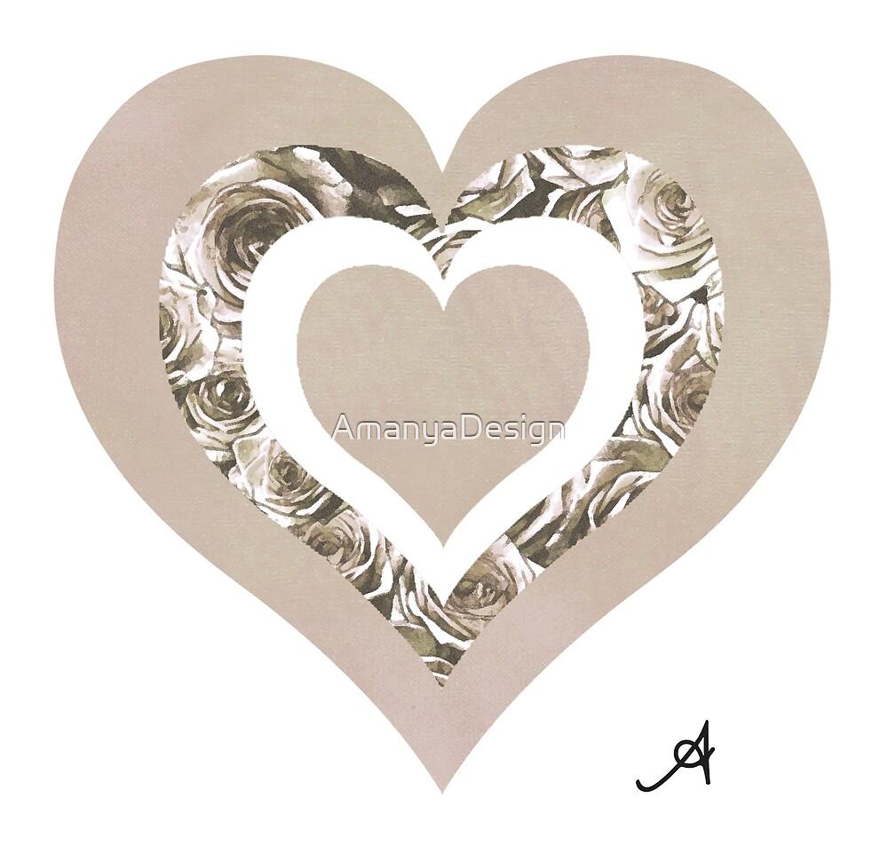 « Amoureux des champignons de la roseraie Amanya Design » par AmanyaDesign