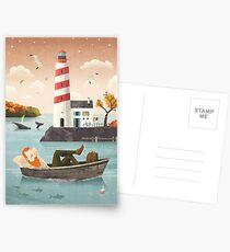 Lighthouse Postcards