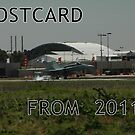 Postcards From The Past - RAAF Hornet Landing by muz2142