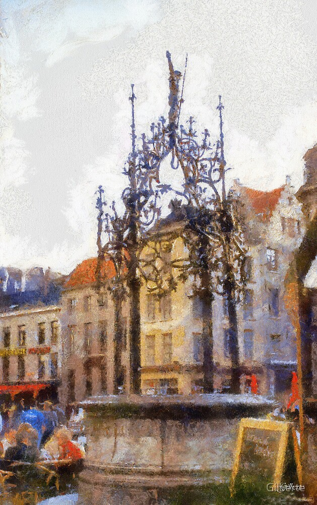 Quinten Matsijs Well - Antwerp by Gilberte