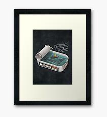 Gone Fishin' Framed Print
