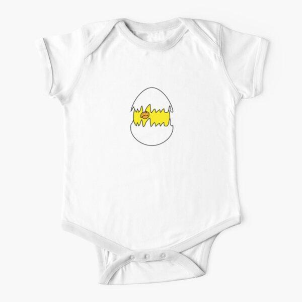 Baby Bird Body de manga corta para bebé