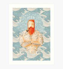 Sailor Art Print
