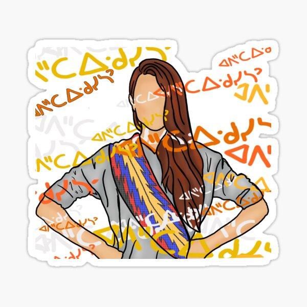 Métis - âpihtawikosisân Sticker