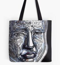 Man human person gridface guy dude wisdom zen Tote Bag