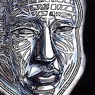 Man human person gridface guy dude wisdom zen by kaiascopic