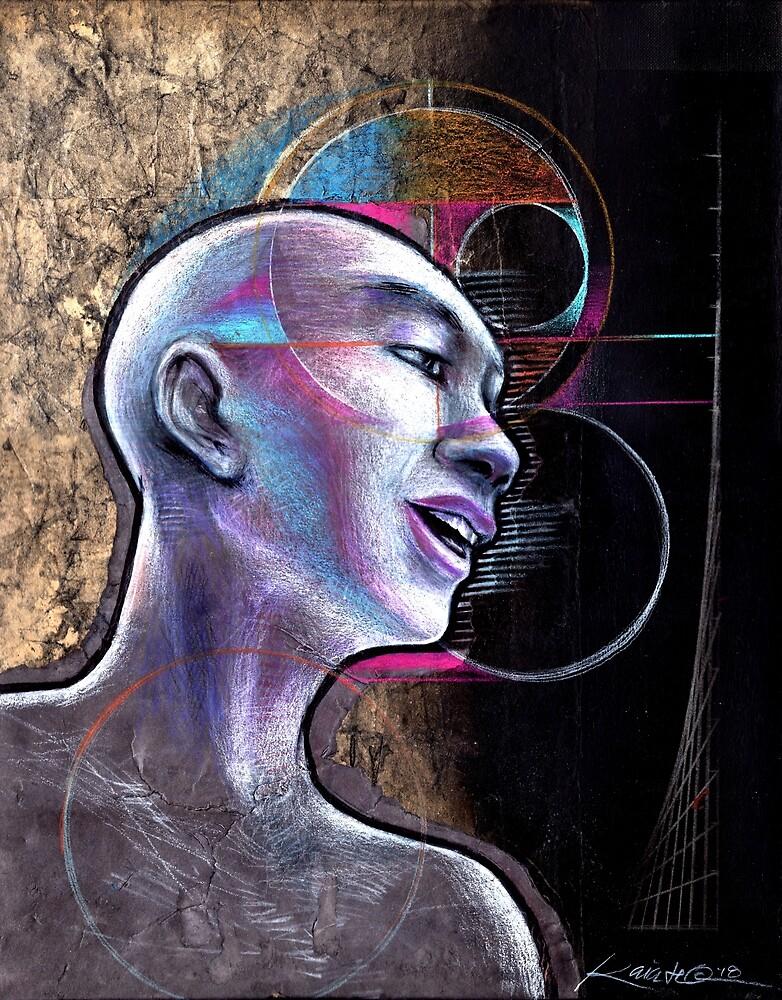 Man Human zen black goth Buddhism philosophy buddhist by kaiascopic