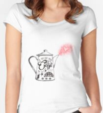If You Like Your Coffee Hot... Women's Fitted Scoop T-Shirt
