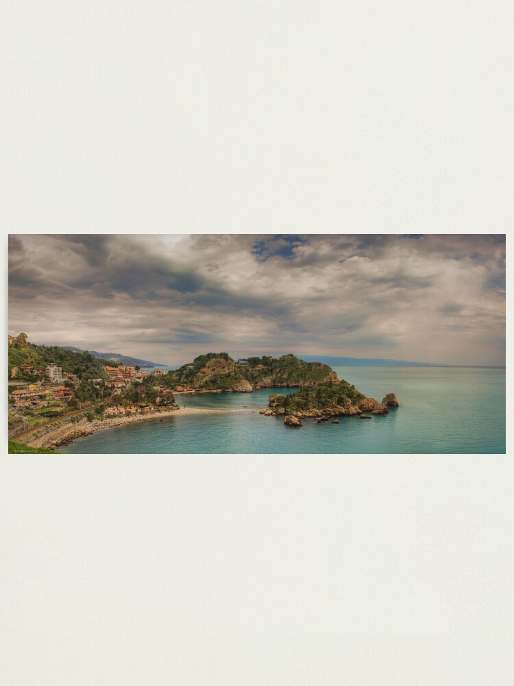 Alternate view of Panoramic view of Isola Bella Photographic Print