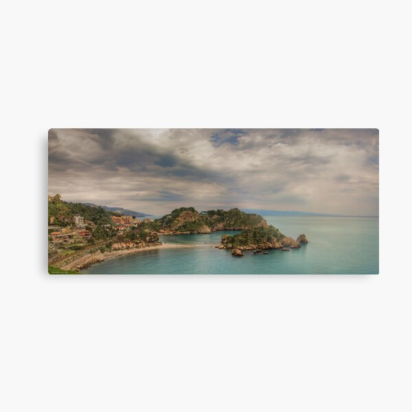 Panoramic view of Isola Bella Metal Print
