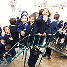 Kids at Play by Kingston  Liu