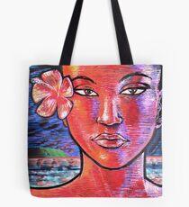 Woman Girl Female Lady Beach Human Zen KRIS Tote Bag