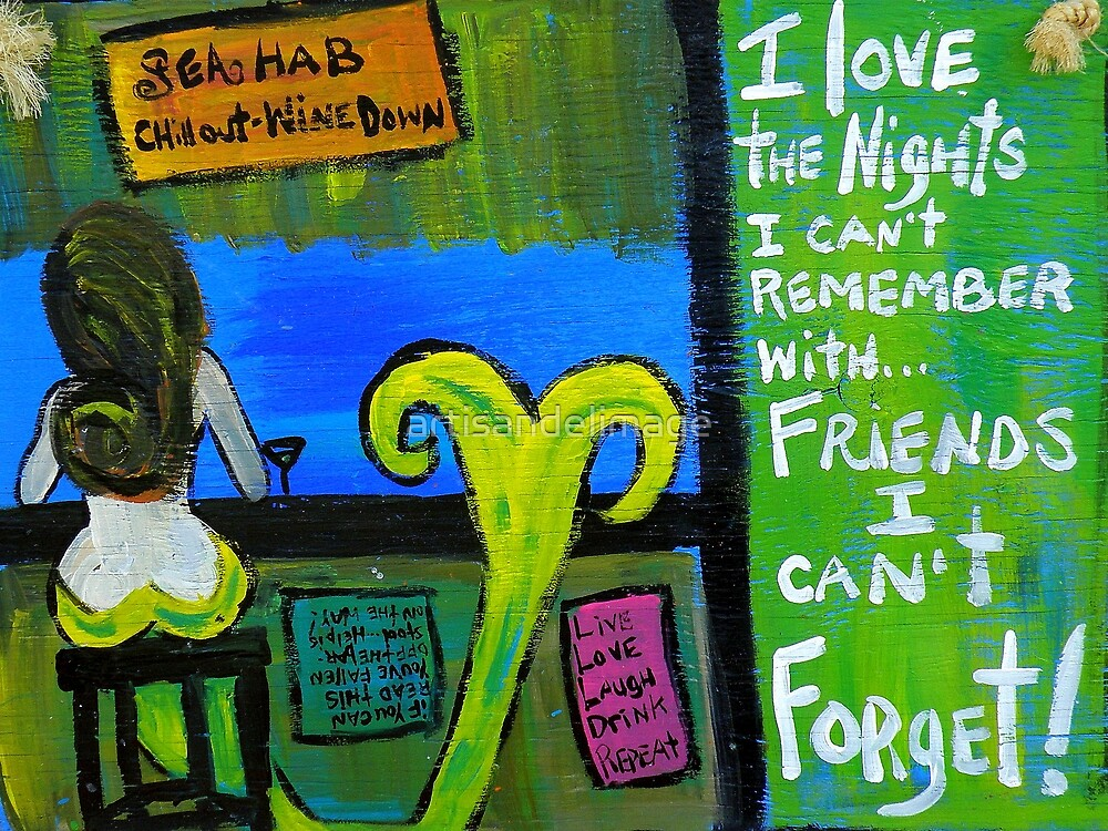 Remember And Forget by artisandelimage