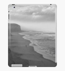 First Footsteps On The Beach iPad Case/Skin