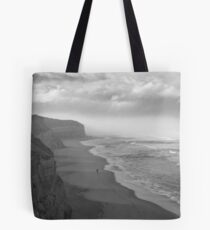First Footsteps On The Beach Tote Bag