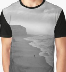 First Footsteps On The Beach Graphic T-Shirt