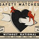 Safety Matches : Love by heatherlandis