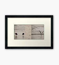 Fight or Flight reconsidered Framed Print