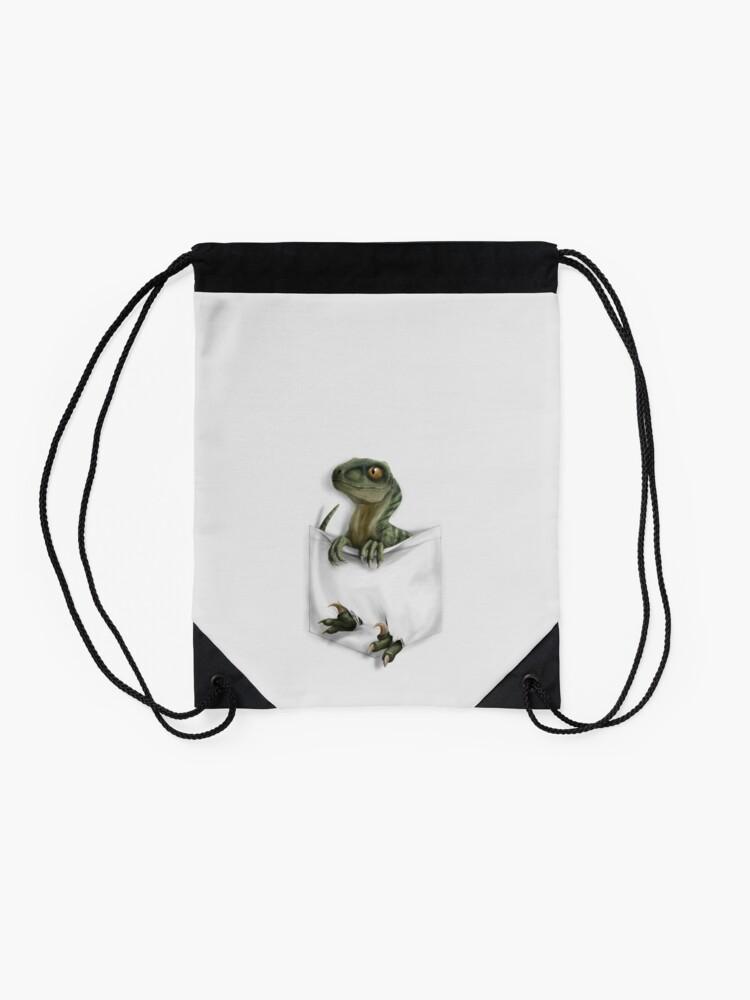 Alternate view of Pocket Protector - Charlie Drawstring Bag