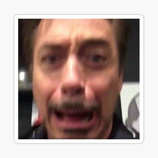 Robert Downey Jr. Reaction Pic Sticker