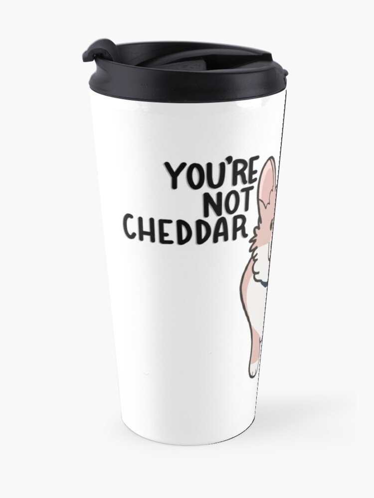 Alternate view of Not Cheddar Travel Mug