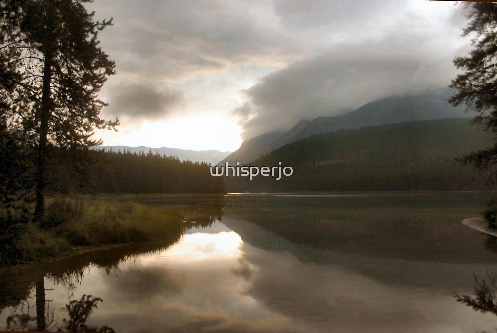 Lake Minnewanka by whisperjo