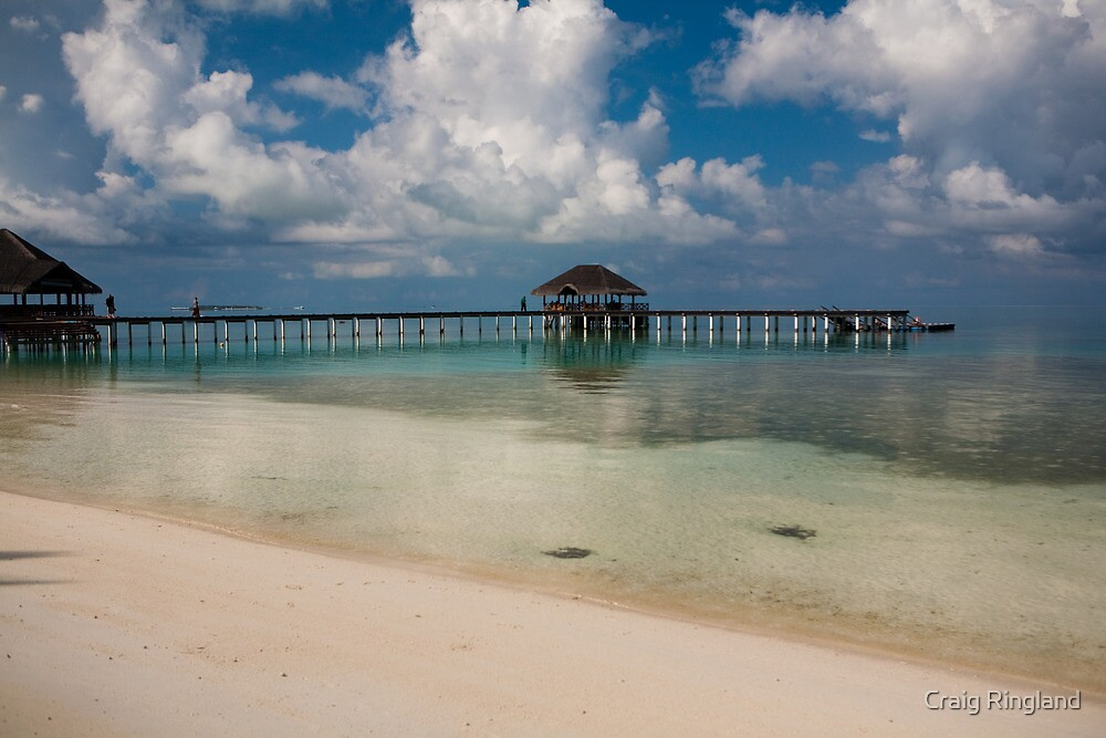 Medhufushi Island by Craig Ringland