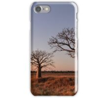 Boabs in the Kimberley iPhone Case/Skin