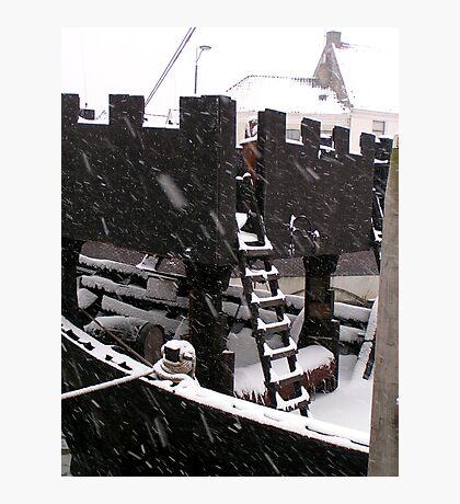 """Medieval """"kogge"""" Cog vessel Kampen Netherlands Photographic Print"""