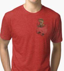 Pocket Protector - Lost World Tri-blend T-Shirt