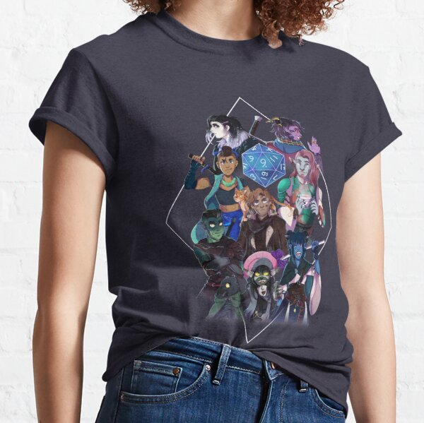 Critical Role - The Mighty Nein Classic T-Shirt