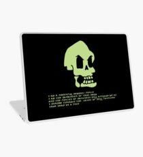 Murray, the invincible demonic skull Laptop Skin
