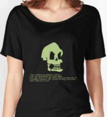 Murray, the invincible demonic skull Women's Relaxed Fit T-Shirt