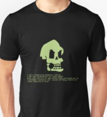 Murray, the invincible demonic skull Unisex T-Shirt