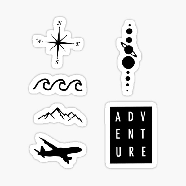 Travel Stickers Redbubble