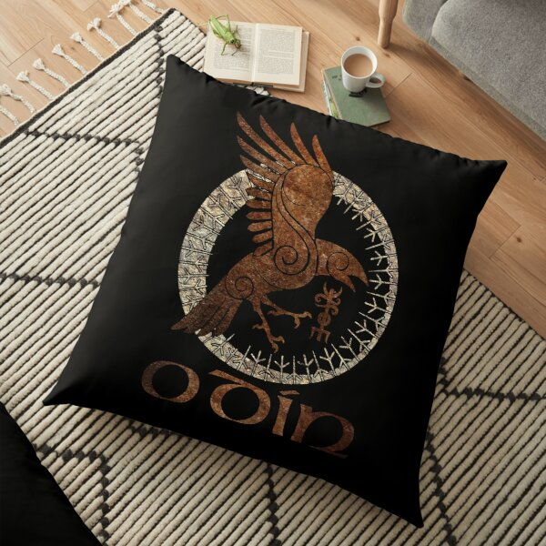 Seal Of Odin Floor Pillow