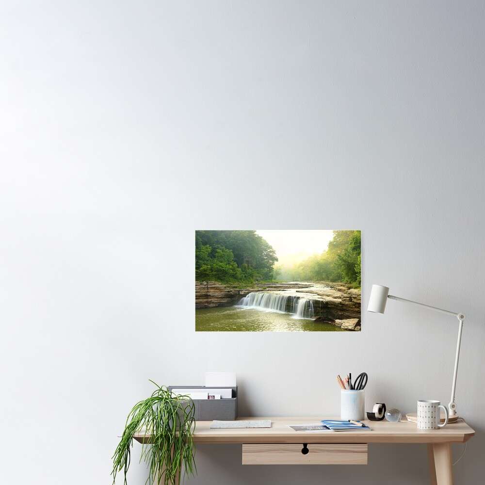 Lower Cataract Falls Poster