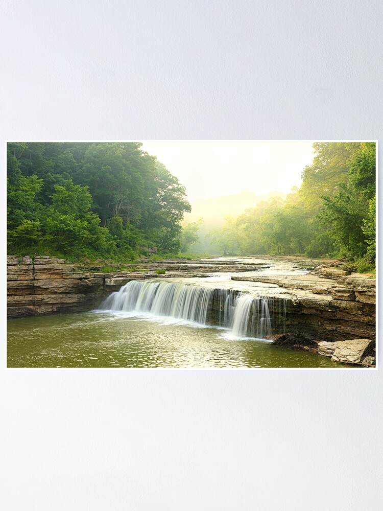Alternate view of Lower Cataract Falls Poster