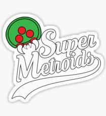 Team Super Metroids Sticker
