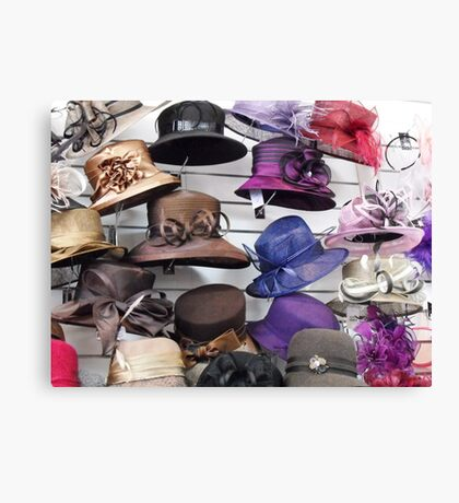 Wall of Hats Canvas Print