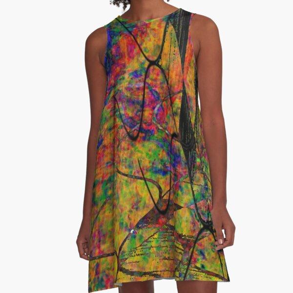 Shou Mei Waves V A-Line Dress